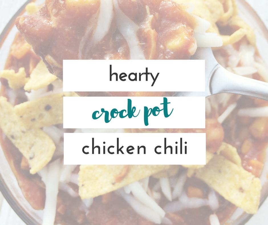 this is the best chicken chili i have ever had and it's made entirely in the slow cooker