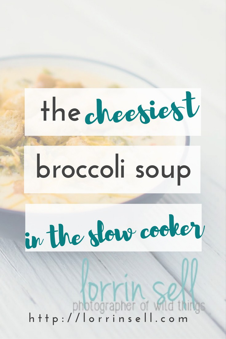 i can't wait to make this broccoli soup now that the weather is changing!