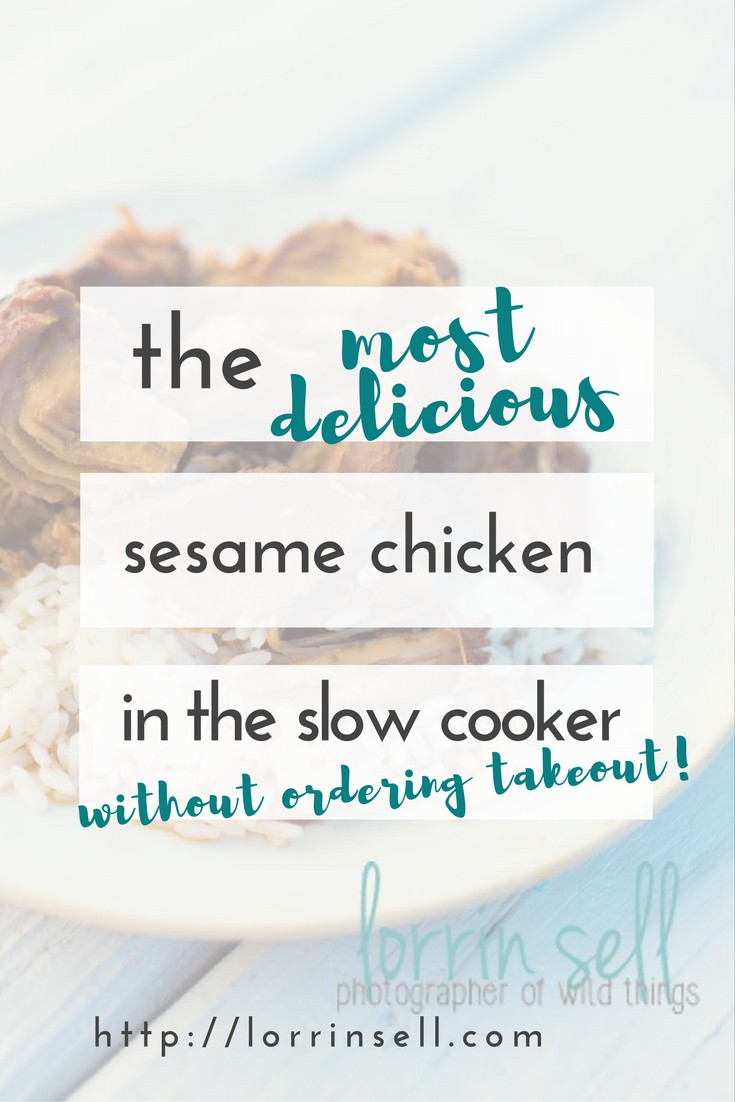 i love sesame chicken, and so do my kids. i love that i can make it in the slow cooker!
