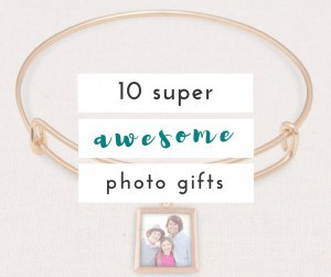 I love a personalized photo gift. These are great for anyone in your family, friends, or even the kids!