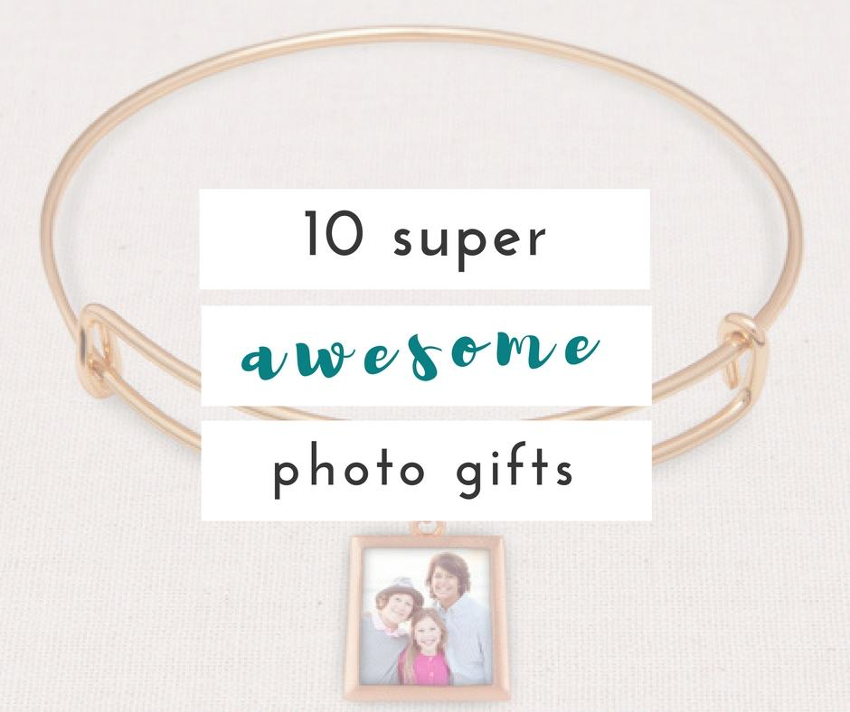 Photo gifts you won't want to miss out on