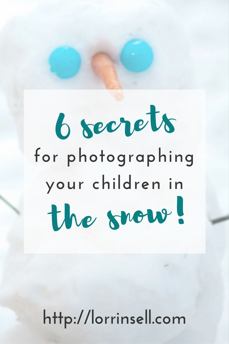 once the snow starts to fall, parents everywhere will chase their children around with their cameras, as they play in the snow. These 6 secrets will help you rock your snow photography!