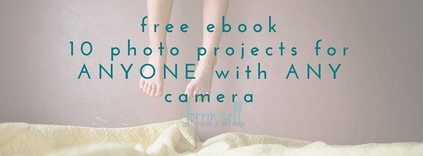 free ebook for inspiration when photographing your kids