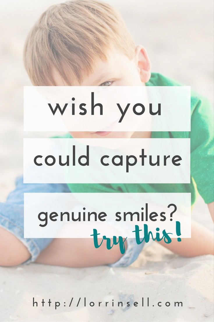 stop taking pictures of your kids with phony smiles, and try these tips
