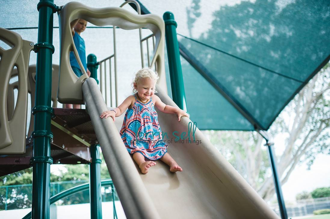 great ideas for better pictures at the playground