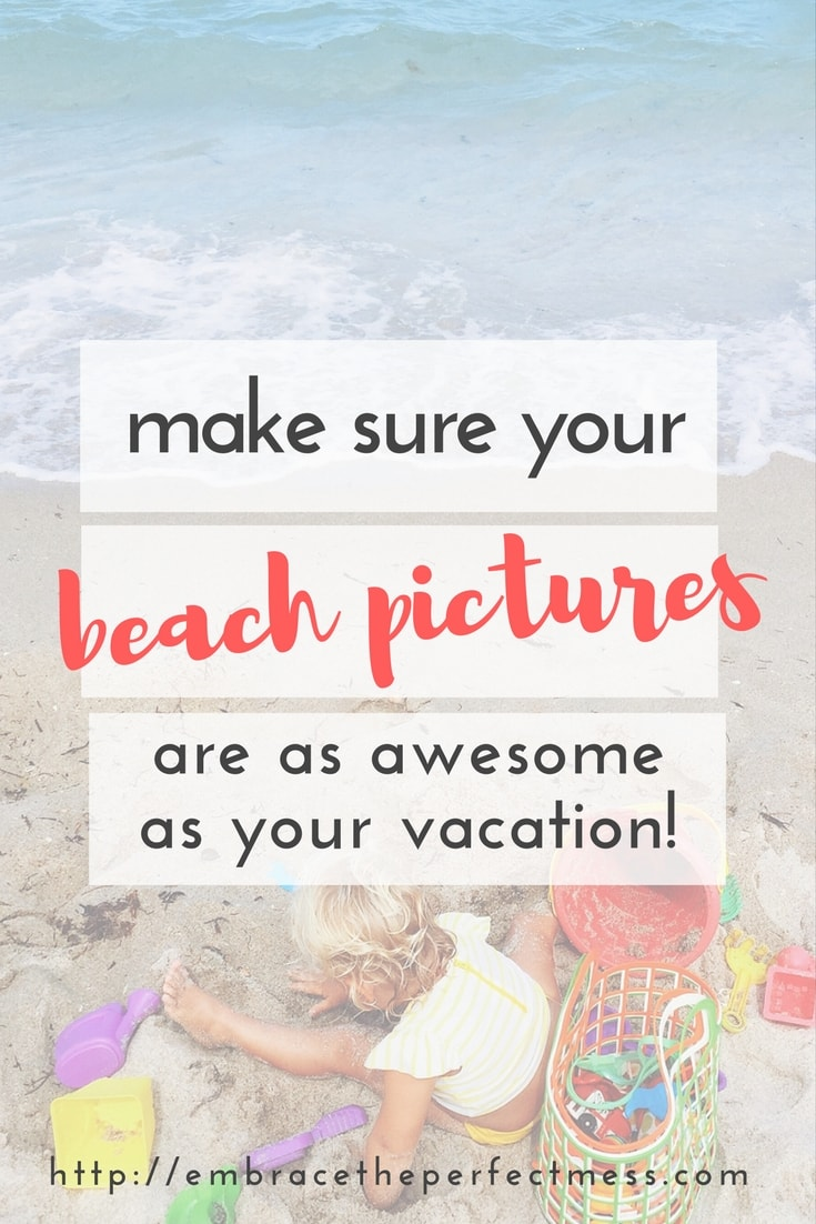 I love taking pictures of my family at the beach. These are great tips for how to take good beach pictures