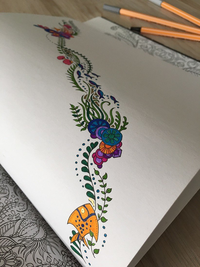 I love using adult coloring books. There are so many reasons to color as an adult!