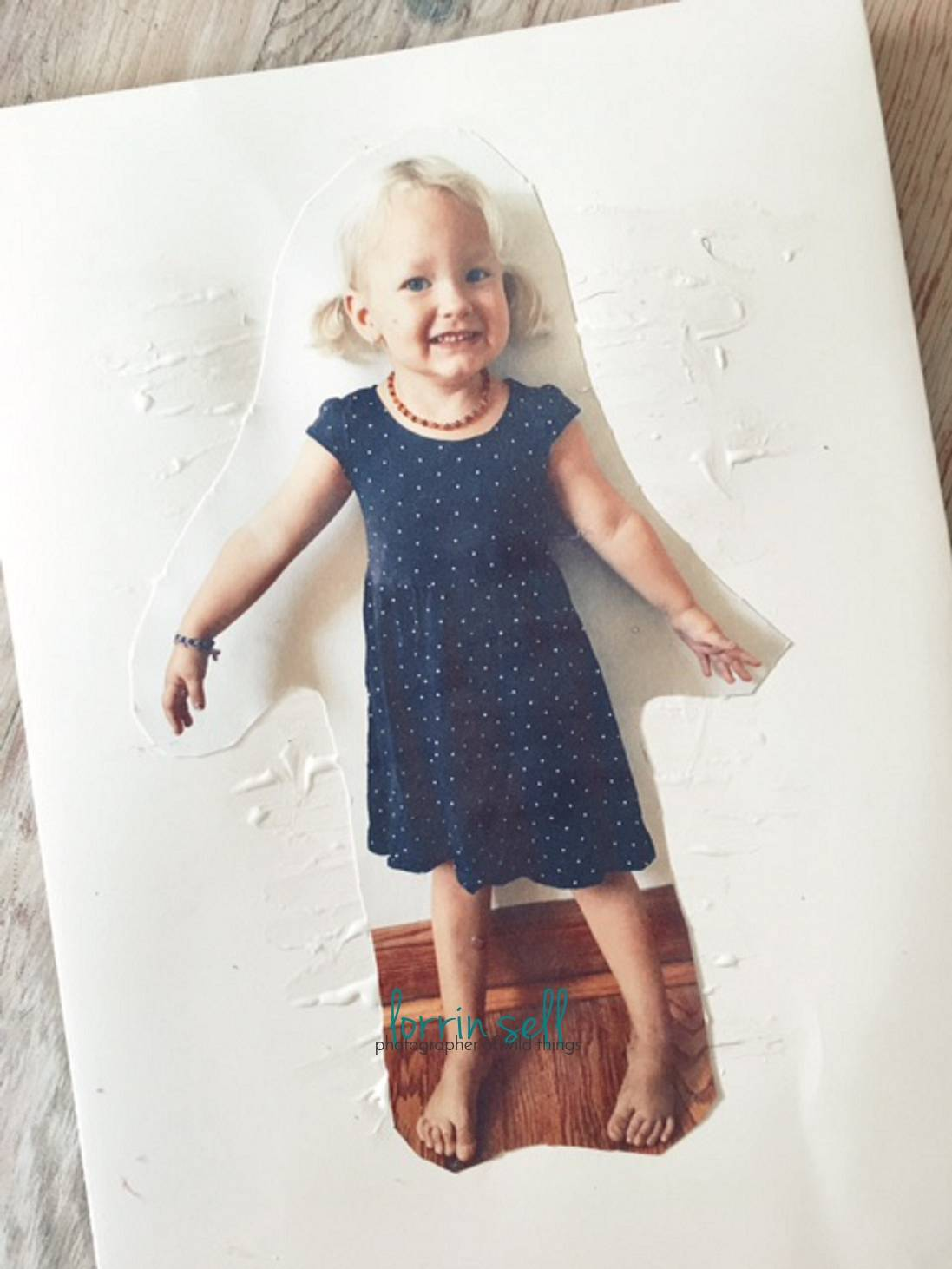 These DIY paper dolls were so easy to make, and the girls LOVE the fact that they have dolls that look JUST like them!
