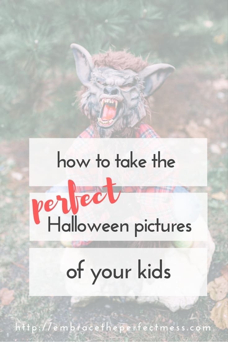 Halloween is coming! I love these tips for taking pictures on Halloween.