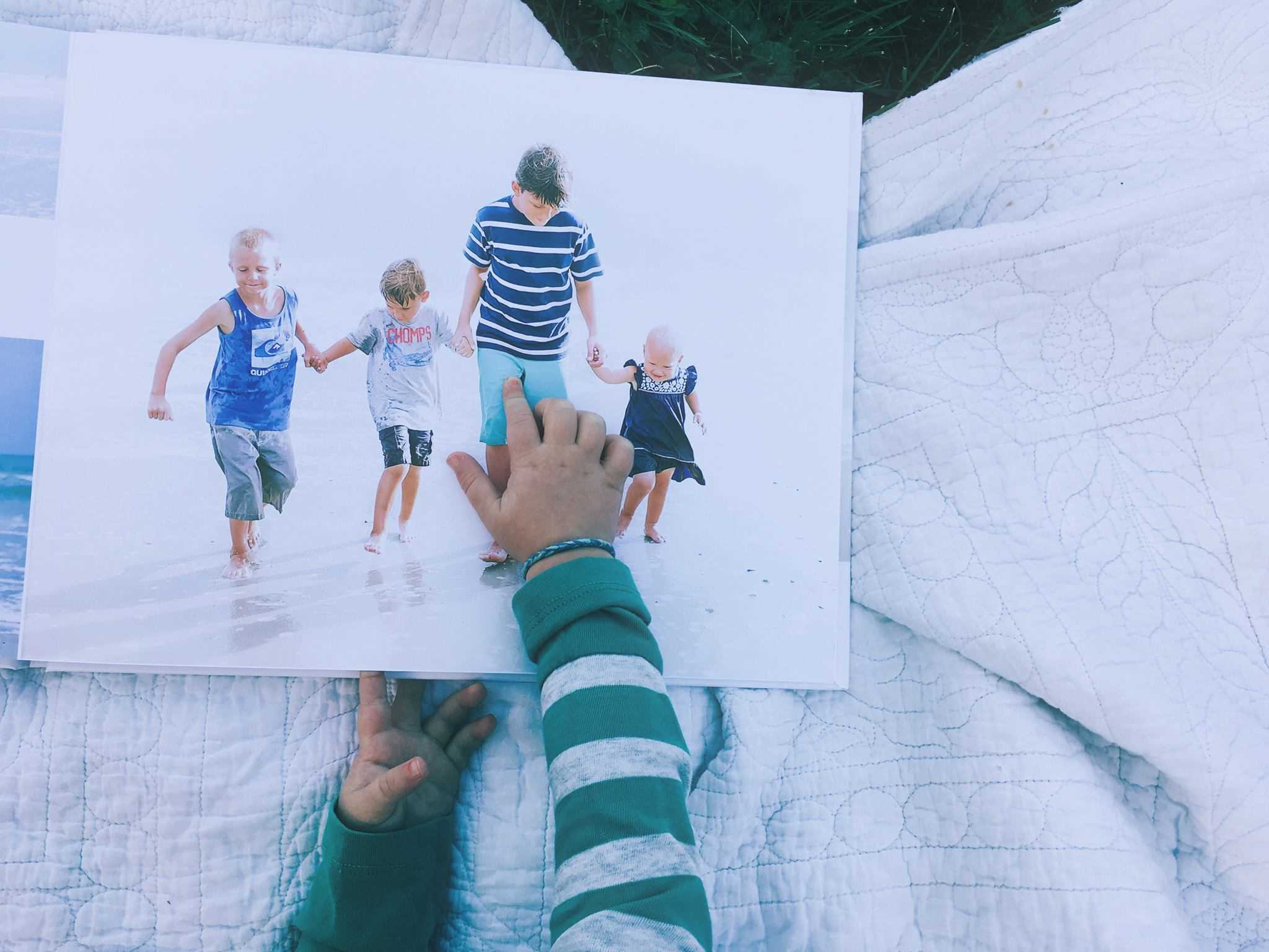 I can't believe how easy this photo album was to make. I am so happy to have my pictures printed in a book.