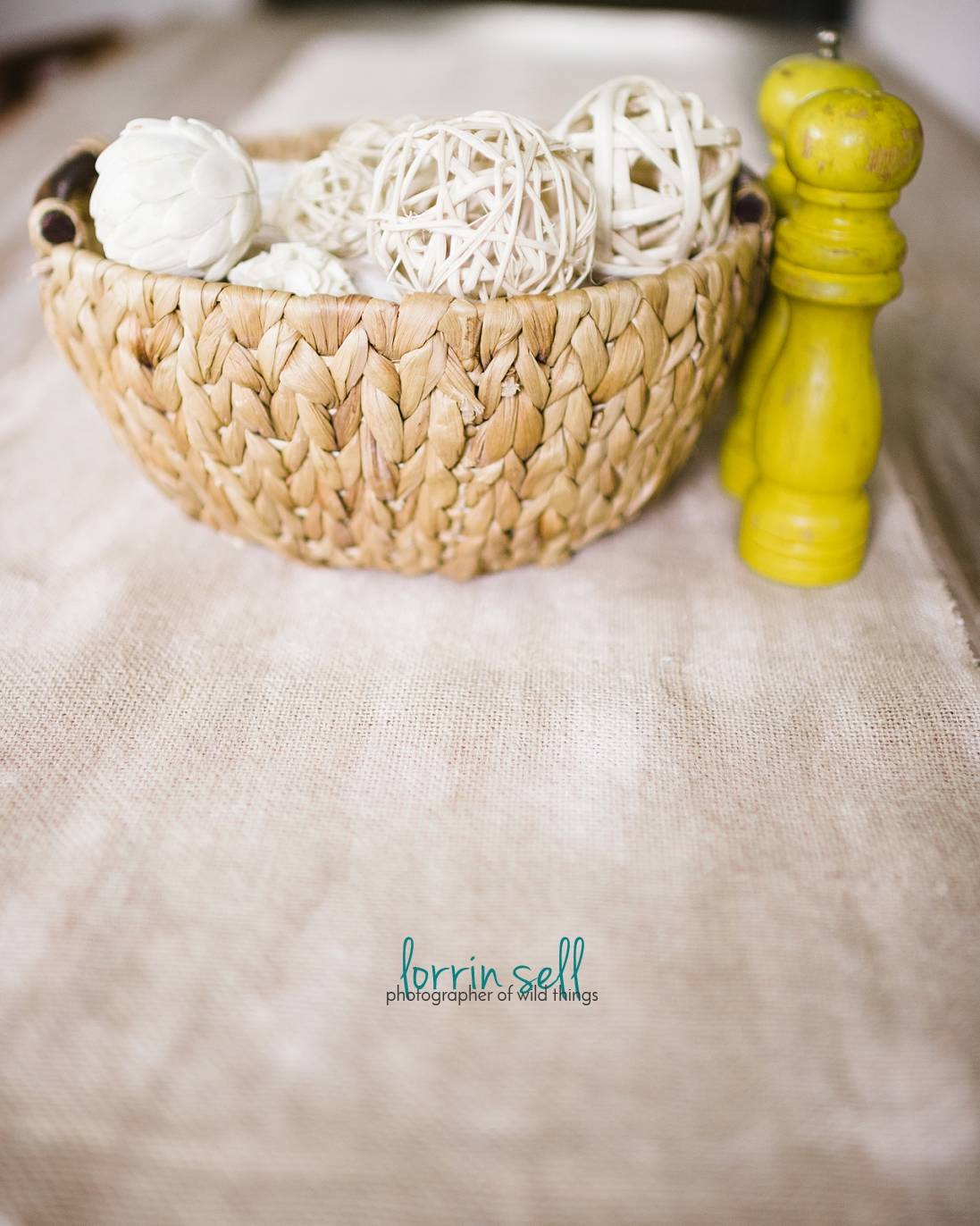 I love this simple burlap table runner. It is so easy to make.