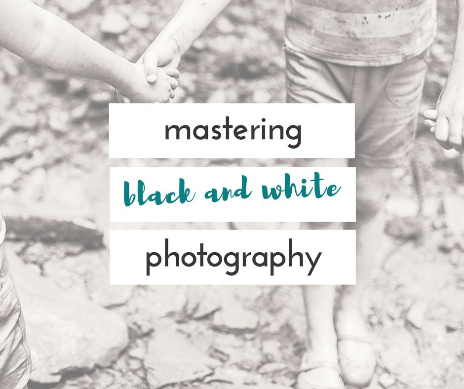 how to take better black and white pictures