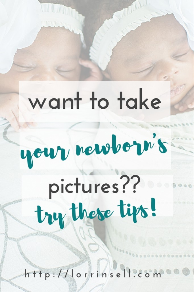 If you're going to try yo take your own newborn pictures, you definitely want to check out these tips