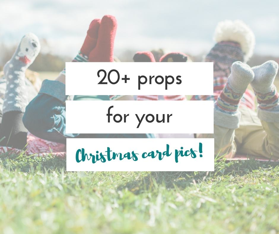 20+ perfect Christmas picture props