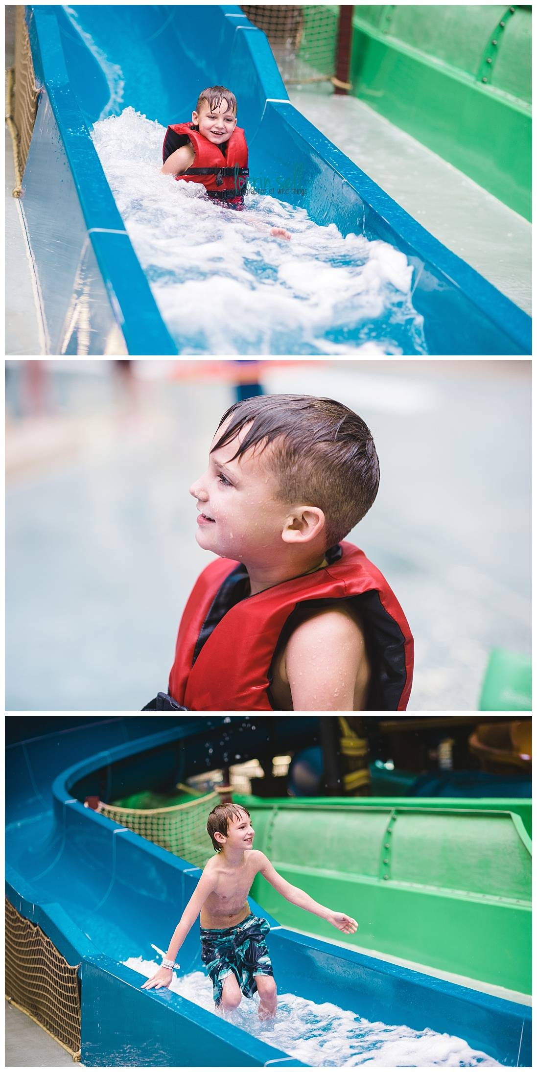 We loved the indoor water park at Kalahari Resort in the Poconos. It was the perfect winter escape, and we didn't even have to catch a plane!