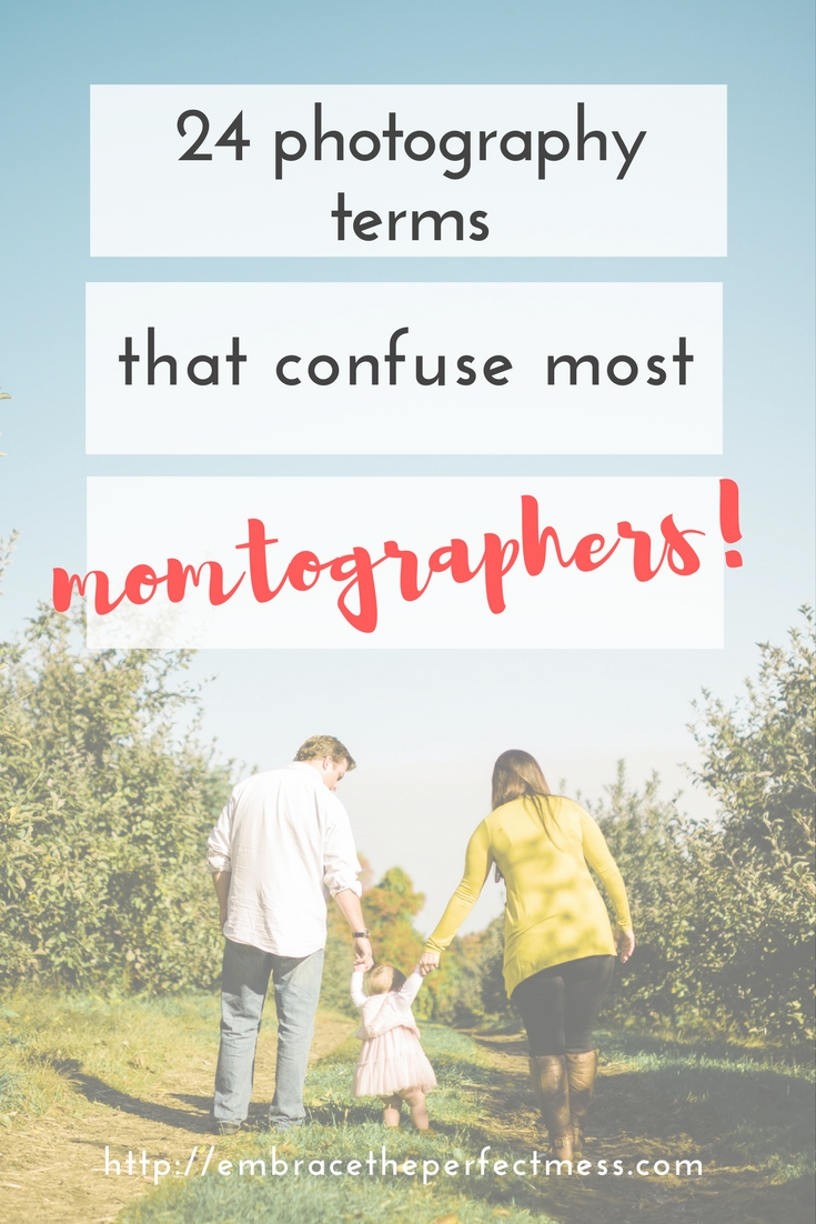 Photography terms can often be confusing. Here are some photography terms and definitions any person learning photography should know.