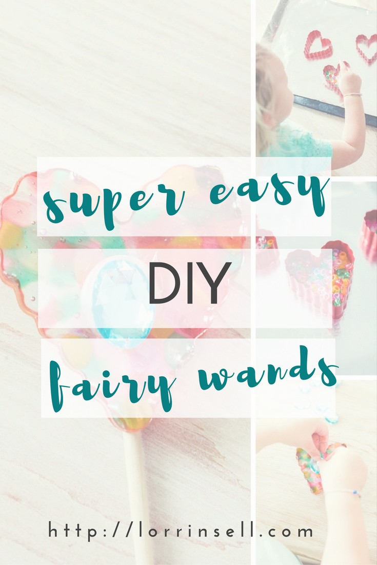 These are the cutest DIY fairy wands, and they were so easy to make. The kids loved this craft!