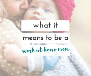 Being a WAHM is a blessing but it definitely has its challenges, and truths that no one really talks about.