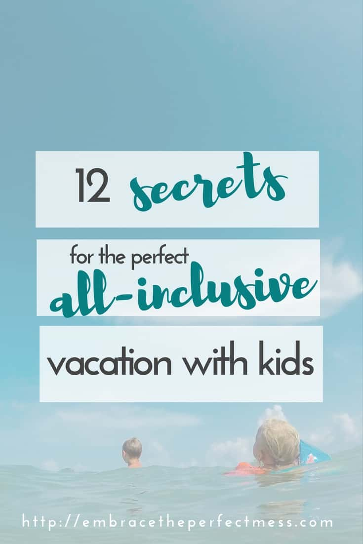 We learned so much on our first trip to an all-inclusive resort. These tips would have been so great to know before our vacation.
