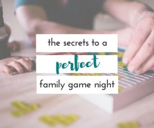 We love a good family game night. These tips always help to make our game night great!