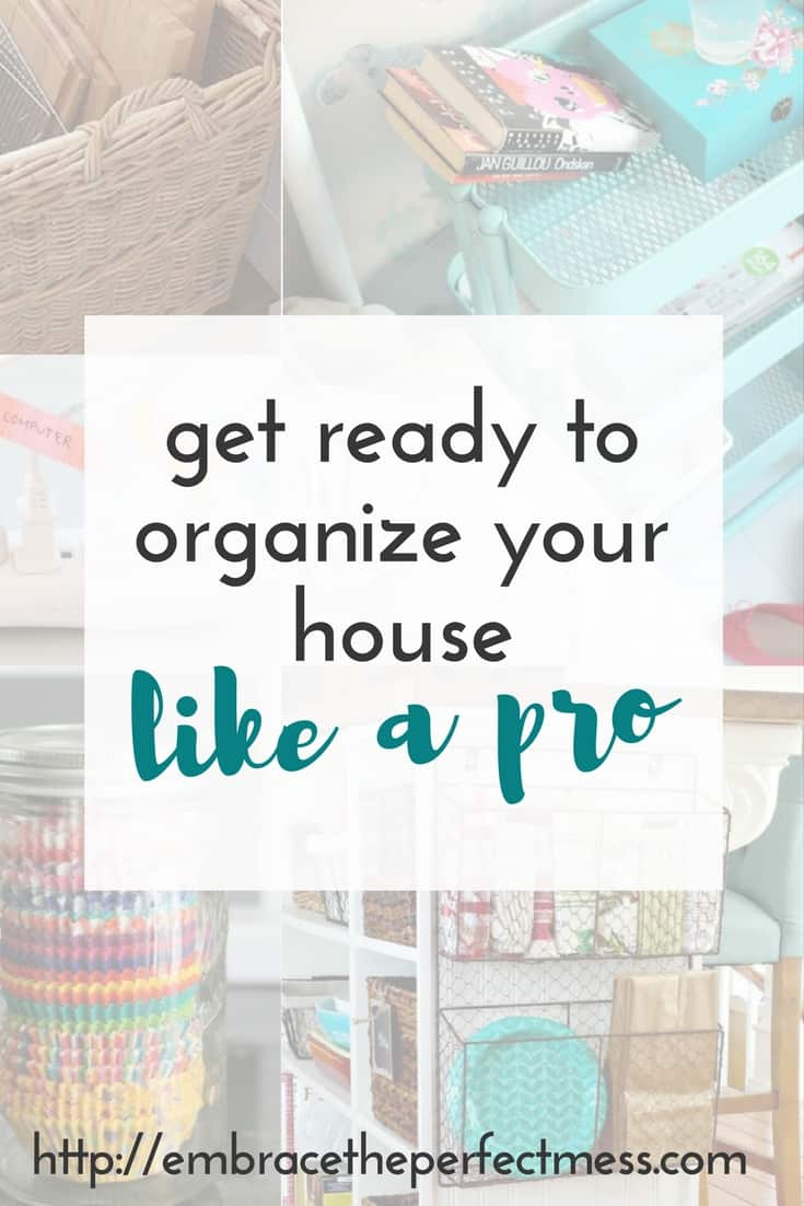 DIY family organization ideas for the home | embrace the perfect mess