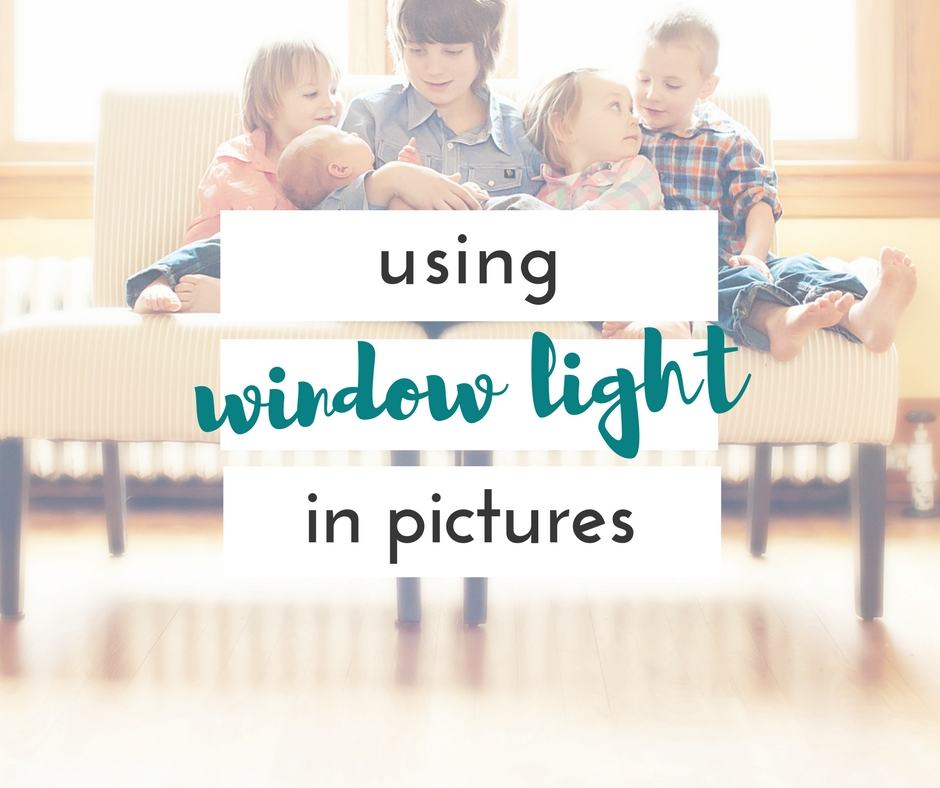 how to use window light in pictures to get incredible pictures of your kids