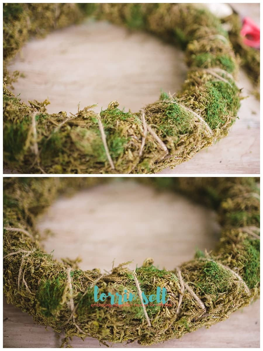 This DIY spring wreath is so pretty, and I can't believe she made it with a pool noodle! How awesome is that?!!