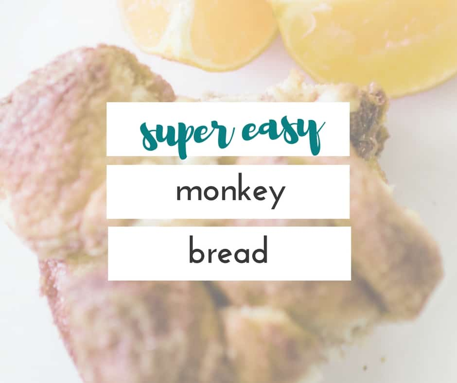 This is the easiest breakfast ever! You're going to love this easy monkey bread recipe.