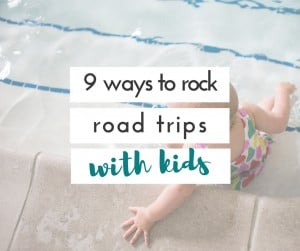 Taking road trips with kids doesn't have to be torture! We have figured out some things that make our road trips with kids much easier!