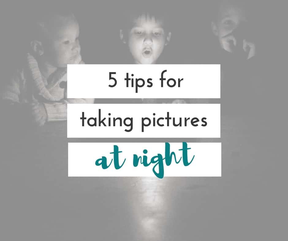 5 must-do tips for taking pictures at night