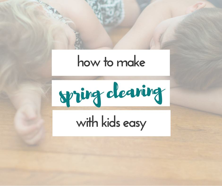 These are great tips for spring cleaning with kids. I hate cleaning. I'll do anything to make cleaning with kids easier.