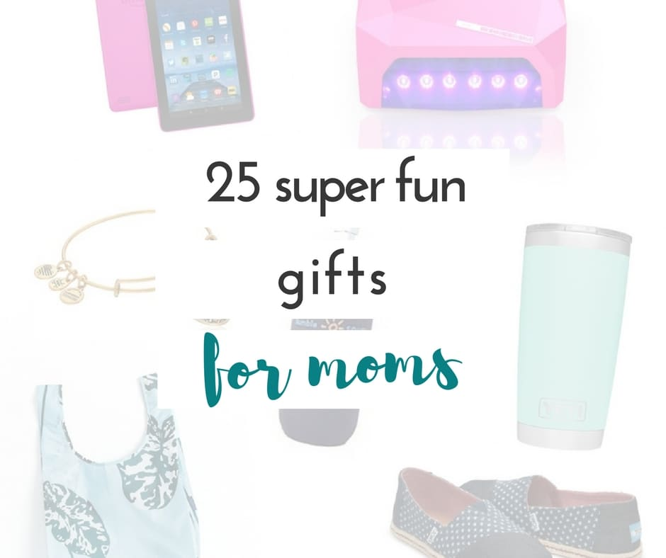 if you're looking for some cool ideas for your own mom, your mom friends, or to share with the gift giver in your family, you're going to love these fun gifts for moms.