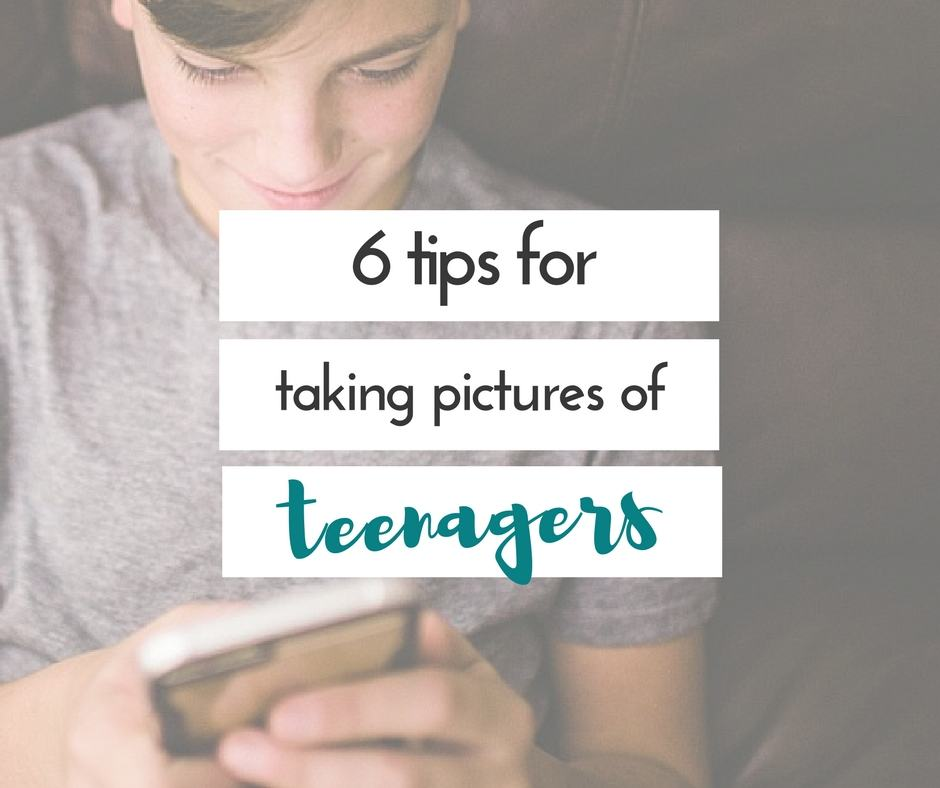 Figuring out how to take pictures of teenagers can be harder than chasing a toddler around with a camera. Great tips for taking pictures of teenagers!