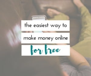 I have seriously found the easiest way to make money online for free, and it's something I was already doing. Why didn't I start this sooner?!