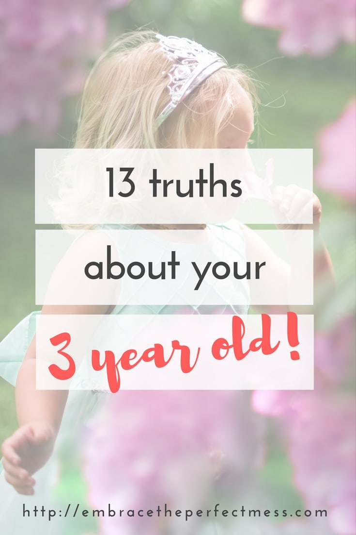 facts about 3 year olds