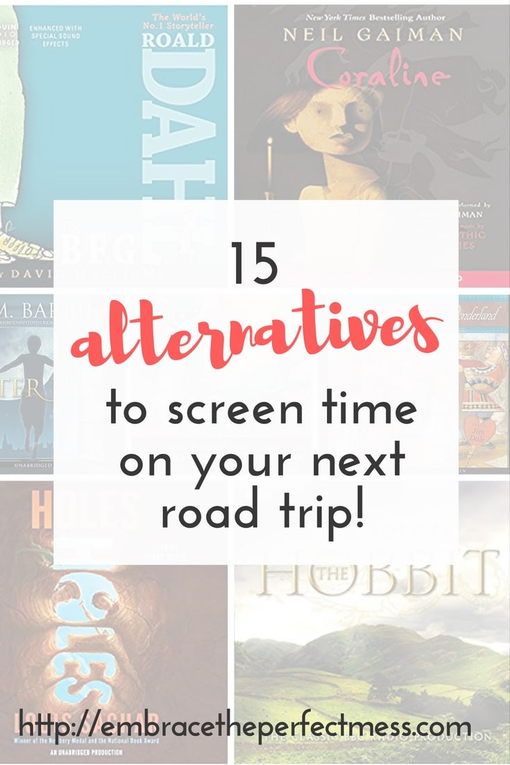 This is a great alternative to video games on a road trip. I love this list of audiobooks for road trips with kids!