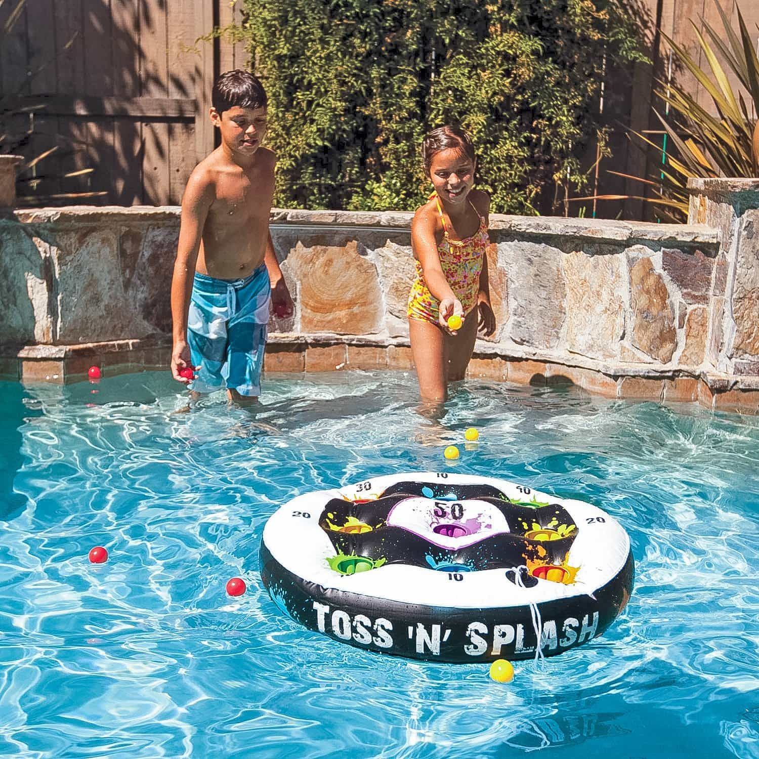These are the most outrageous and fun pool toys. Everyone in the family will have a blast with these!