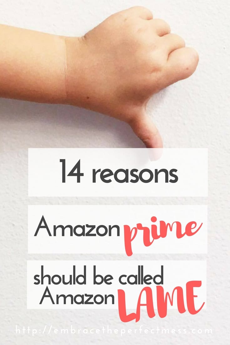 Amazon Prime is a membership program which offers members benefits on Amazon. Here are 14 reasons not to sign up with Amazon Prime. I don't know what do you think?