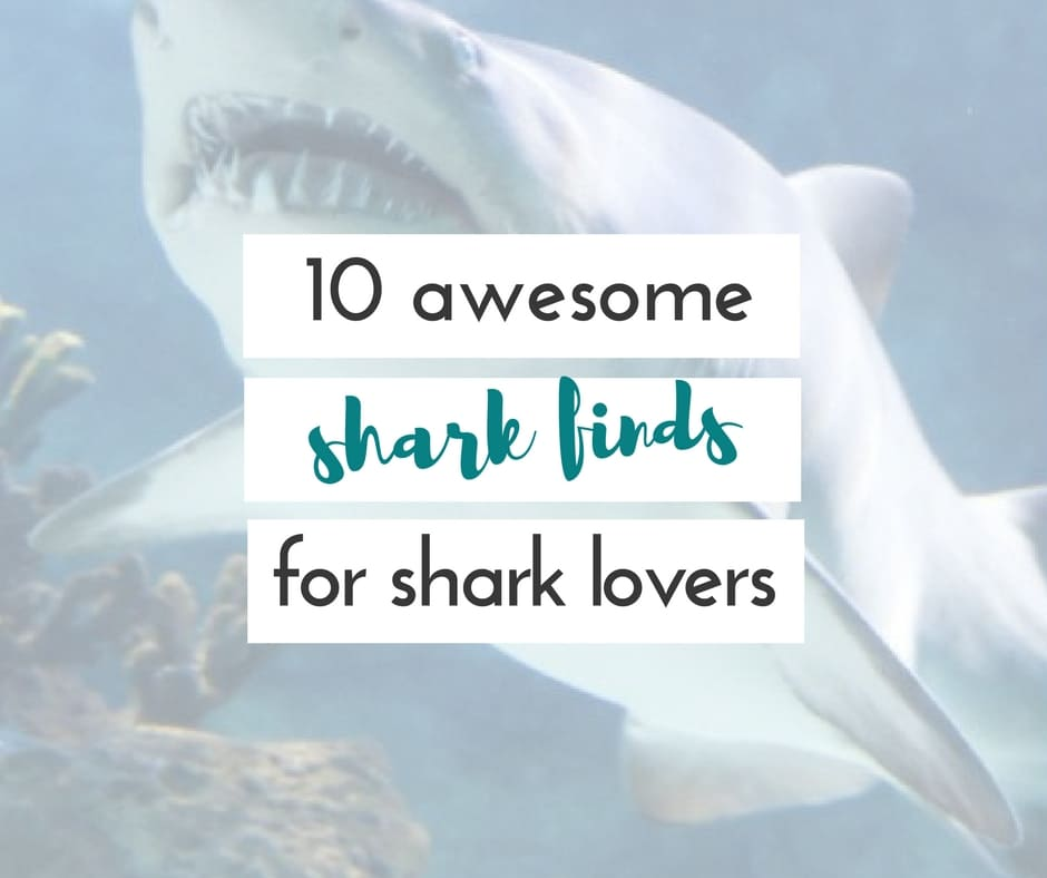 Sharks are absolutely fascinating to me, and so many others. These awesome shark finds for shark lovers will have you wishing you can have one of everything!