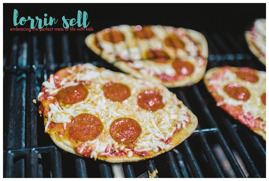 Pizza is a staple in this house. Learning how to make pizza on the grill was a great idea. It's delicious, and insanely easy!