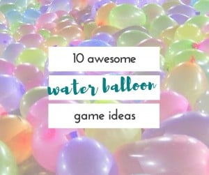 My kids love water balloons. these are great water balloon ideas for kids and for outdoor parties