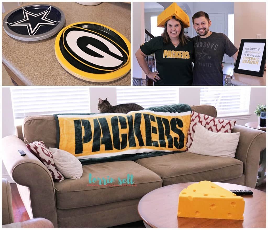 Hosting a family friendly football party is one thing, hosting a family friendly football party on a budget is quite another. You can't go wrong with this!