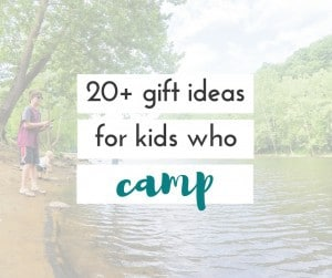 These are really great camp gift ideas for kids. Any family who loves to camp will love these ideas when it comes times to give a gift!