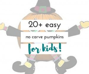 If you have small children, you may be looking for things to do with pumpkins other than carve them, this fall. This is a great list!