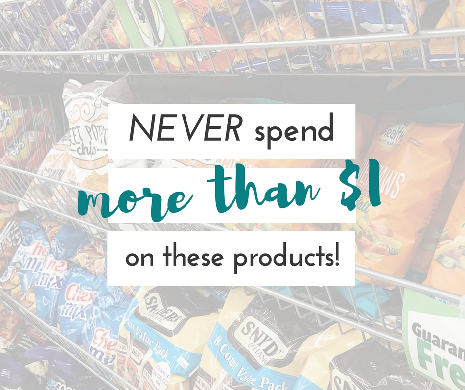 There are just some things you should never pay more than a dollar on. These things should definitely be added to that list!