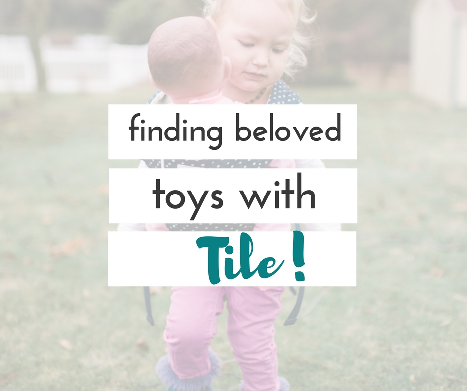 Tile and the Tile app make it possible to keep track of your children's beloved possessions, and take the worry out of what would happen if they were lost