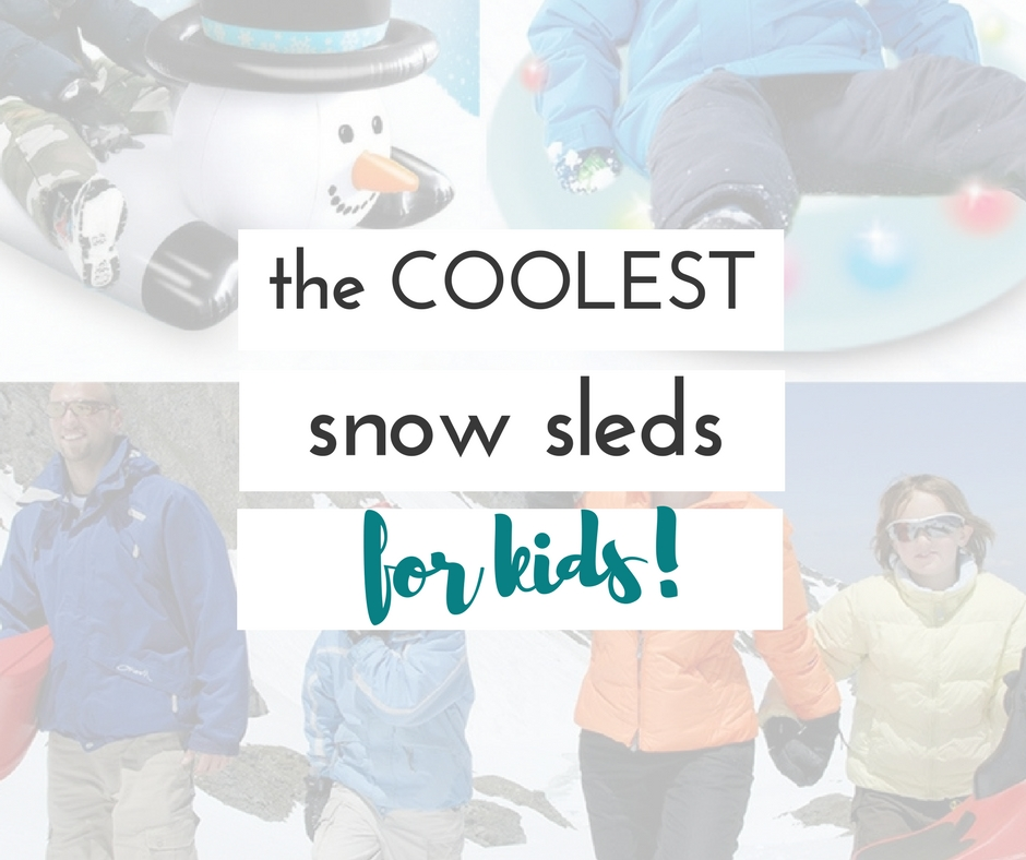 cool snow sleds for kids