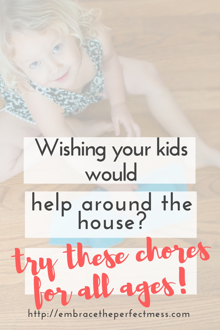 These age appropriate chore lists and charts for kids are a perfect way to get your kids involved in helping around the house. Plus, they teach your kids life skills!
