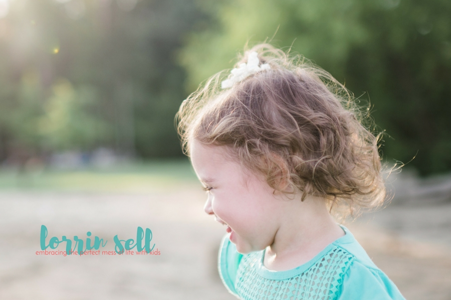 You can use any camera you want for this fun tip for taking better pictures of your kids. Regardless of what I am using, using different angles is one of my favorite creative ways to take pictures of kids.