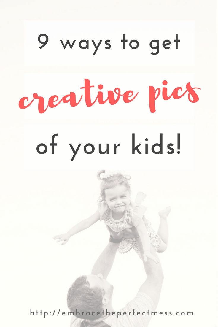 You can use any camera you want for this fun tip for taking better pictures of your kids. Regardless of what I am using, using different angles is one of my favorite ways to take creative pictures of kids.